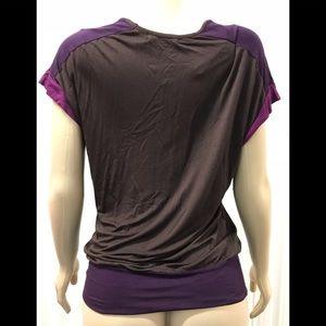 Pleione Tops - Women's Pleione Vertical Striped Casual Blouse